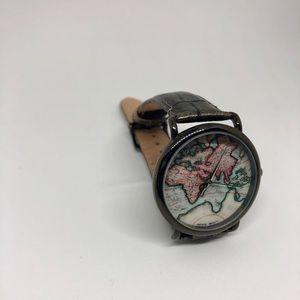 Map Wristwatch